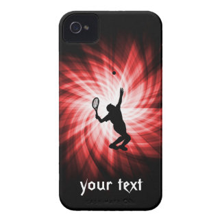Tennis Player; Red iPhone 4 Case-Mate Cases