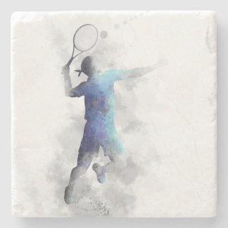 TENNIS PLAYER - Stone Coaster