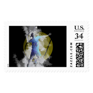 TENNIS PLAYER - US Postage Stamps