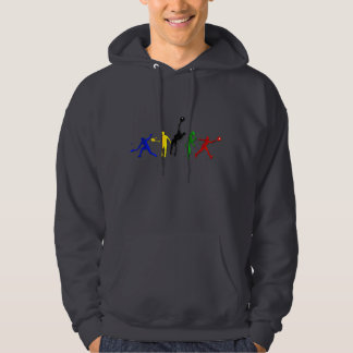 Tennis players Ball Tennis Coaches Sports Hooded Pullover