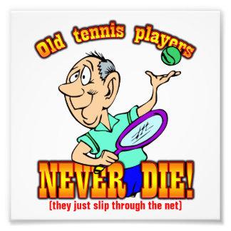 Tennis Players Photo Art