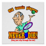 Tennis Players Poster