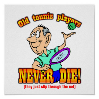 Tennis Players Posters