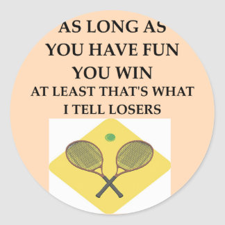 tennis png etiqueta redonda