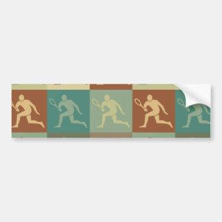 Tennis Pop Art Bumper Sticker