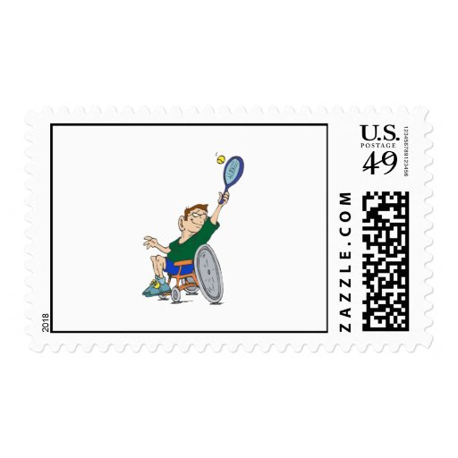 Tennis Postage Stamps