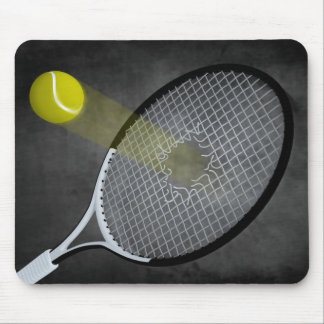 Tennis power! mouse pad