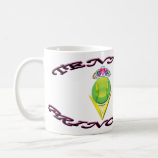 Tennis Princess Classic White Mug