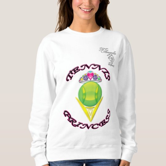 Tennis Princess Women's Basic Sweatshirt