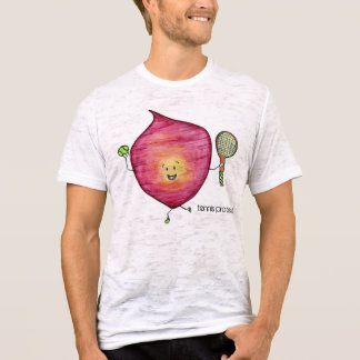 Tennis Pro Beet Burnout T-Shirt