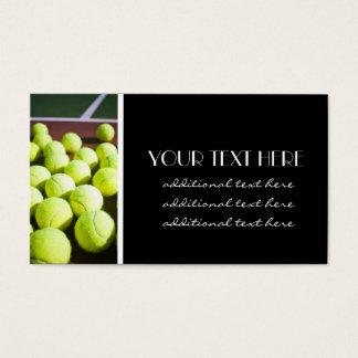 Tennis Pro Business Card