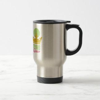 Tennis Queen 15 Oz Stainless Steel Travel Mug
