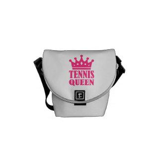 Tennis queen crown courier bags