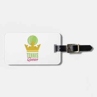 Tennis Queen Tag For Luggage