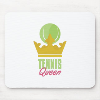Tennis Queen Mouse Pad