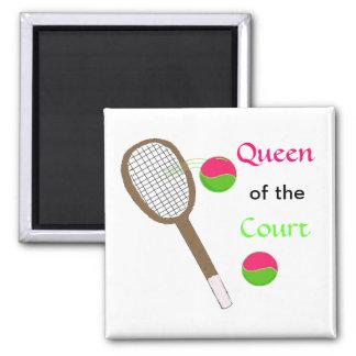 Tennis - Queen of the Court Magnet
