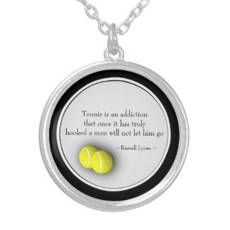 Tennis Quote Motivational Locket