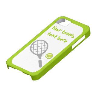 Tennis racket and ball custom iPhone SE/5/5s case