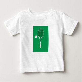 Tennis Racket and Ball Infant Tee Shirt