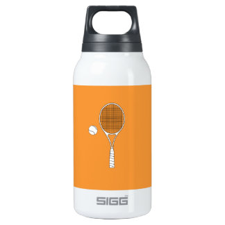 Tennis Racket and Ball Liberty Insulated Water Bottle