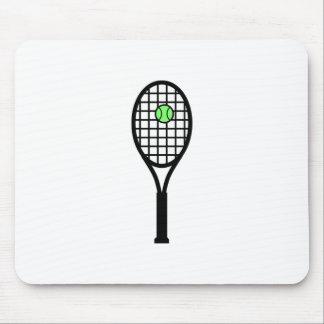 Tennis Racket and Ball Mousepad
