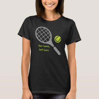 Tennis racket and ball T-Shirt