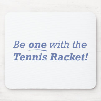 Tennis Racket / One Mouse Pad