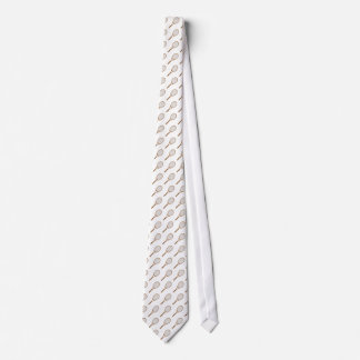 Tennis racket pattern fun sports tie