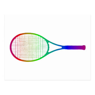 Tennis Racket Postcard