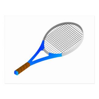 Tennis Racket Post Cards