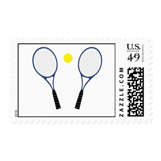 Tennis Rackets and Ball Postage