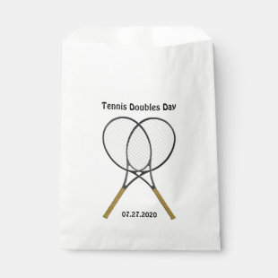 Tennis Rackets Custom Favor Bag