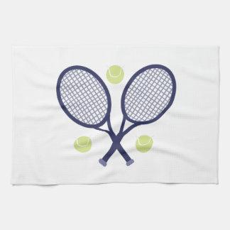 Tennis Rackets Hand Towel