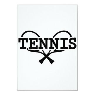 Tennis rackets invite