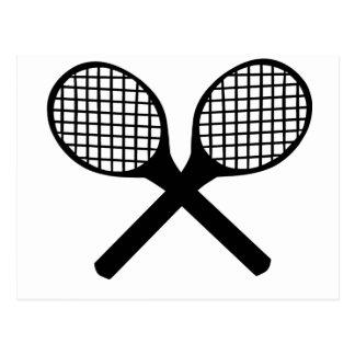 Tennis Rackets Postcard