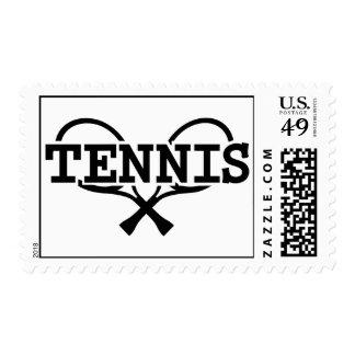 Tennis rackets stamp
