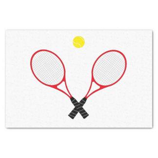 """Tennis Rackets Tissue Paper 10"""" X 15"""" Tissue Paper"""