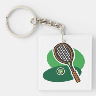 Tennis Racquet 2.png Keychain
