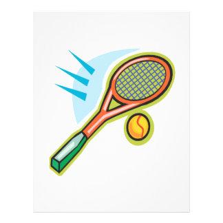 Tennis Racquet Full Color Flyer