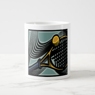 Tennis Racquet Giant Coffee Mug