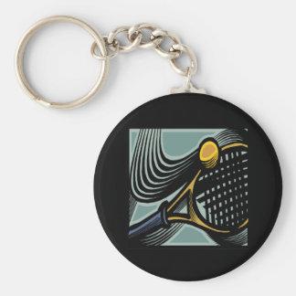 Tennis Racquet Keychain