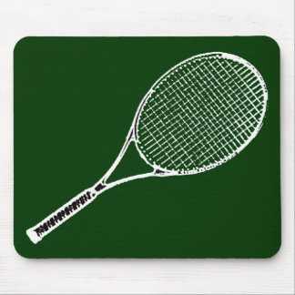 tennis racquet mouse pad
