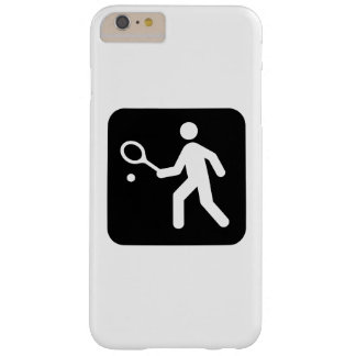 Tennis Racquetball Pictogram Barely There iPhone 6 Plus Case