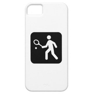 Tennis Racquetball Pictogram iPhone SE/5/5s Case