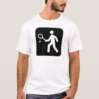 Tennis Racquetball Pictogram T-Shirt
