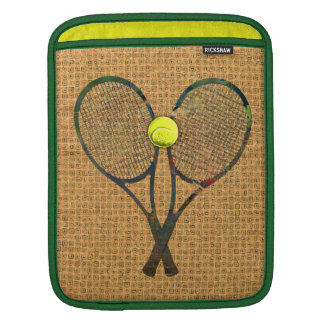 TENNIS RACQUETS & BALL iPad Sleeve