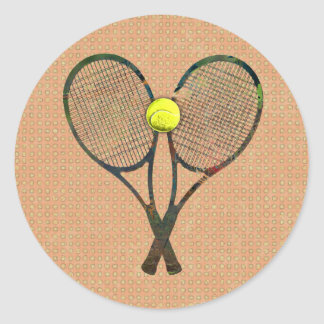 TENNIS RACQUETS & BALL Sticker