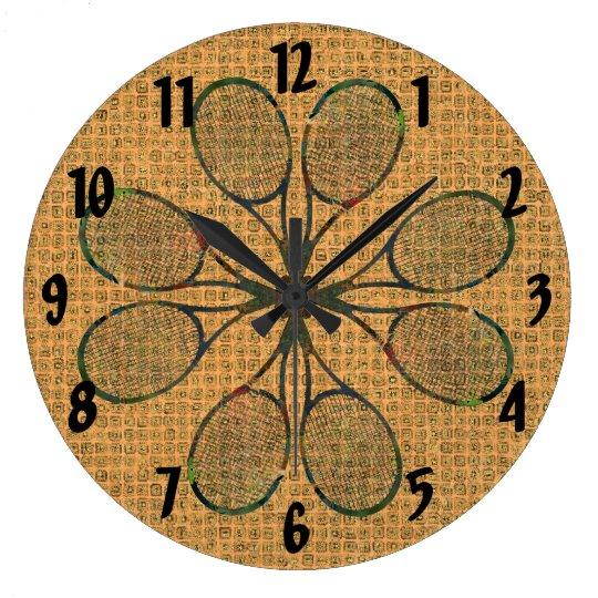 TENNIS RACQUETS Clock