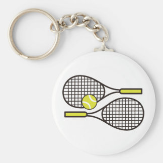 TENNIS RACQUETS KEYCHAINS