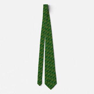 tennis racquets pattern neck tie